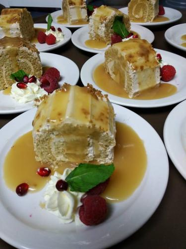 Gâteau bûchette